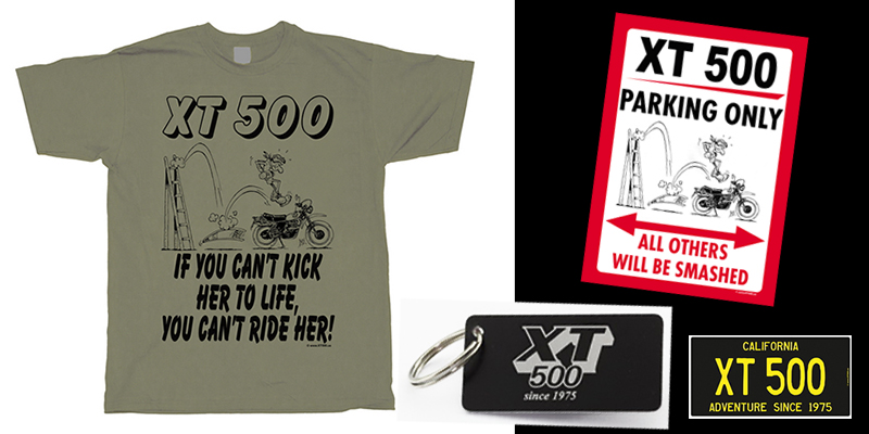 XT500.US - the online store for Yamaha XT 500 owners and fans